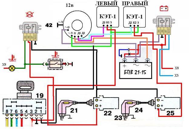 Безконтактная система зажигания для ИЖ Юпитер 6 и Юнкер.  (Краткая) .